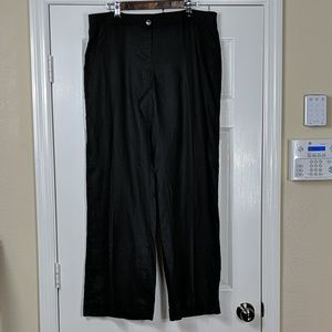 Michael Kors Wide Leg Linen Pants